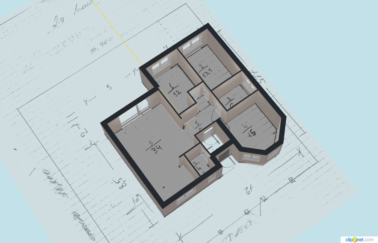 Коттеджный поселок «Яблоновский» | Проект дома 12х11.5