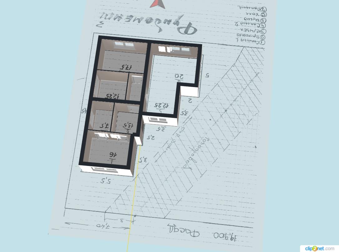 Коттеджный поселок «Яблоновский» | Проект дома 11.5х14.5